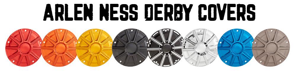 Arlen Ness 10-Gauge Derby Cover for Harley Models